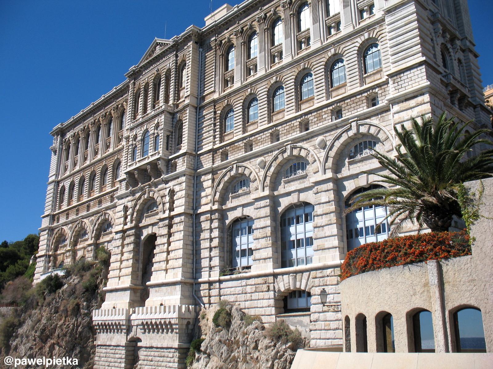 5 Monako Muzeum Oceanograficzne