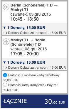 2015-12-03 Berlin Madryt 128 zl RT Ryanair