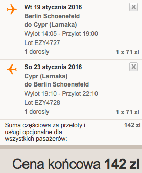 2016-01-19 Berlin Larnaka Cypr easyJet 110 zl RT 2