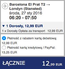 2016-01-20 Szczecin Londyn Barcelona 230 zl RT Ryanair 3