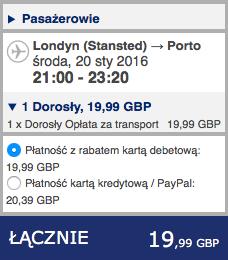 2016-01-20 Szczecin Londyn Porto 259 zl RT Ryanair 1