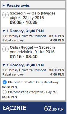 2016-01-22 Szczecin Teneryfa Wyspy Kanaryjskie 230 zl RT Ryanair 1