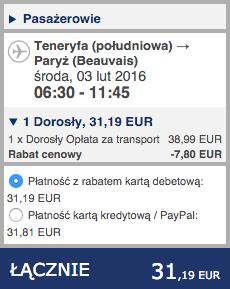2016-01-22 Szczecin Teneryfa Wyspy Kanaryjskie 230 zl RT Ryanair 3