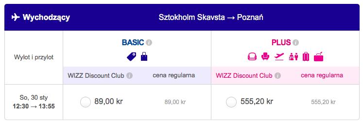 2016-01-25 Szczecin Wilno Poznan 148 zl Ryanair Wizzair 4