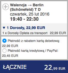 2016-02-21 Poznan Barcelona Walencja Berlin 164 zl Ryanair Alsa 3