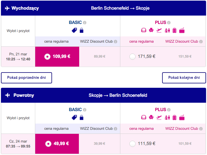 2016-03-21 Berlin Skopje Macedonia bezposrednio Wizz Air