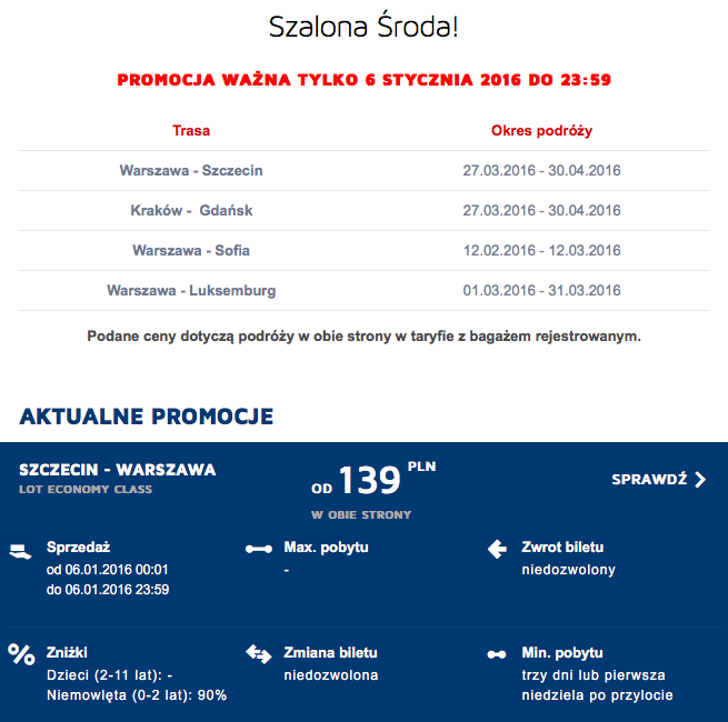 2016-04-02 Szczecin Warszawa 139 zl RT Szalona Sroda 2