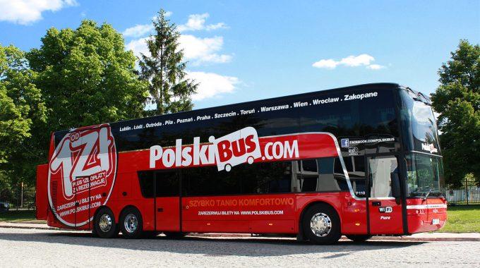 PolskiBus: linia P17 Szczecin – Poznań – Wrocław zawieszona