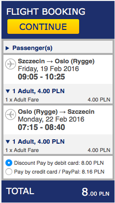 2016-02-19 Szczecin Oslo Rygge Moss 8 zl RT Ryanair