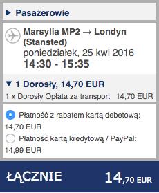 2016-04-19 Szczein lotnisko Marsylia Francja lot Ryanair 227 zl RT 3
