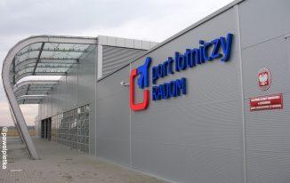 Port Lotniczy Radom i relacja z lotu do Ostrawy/Pragi