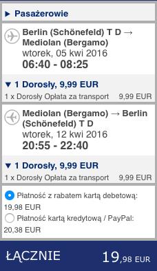2016-04-05 Berlin Bergamo Ibiza Ryanair 176 zl RT 1
