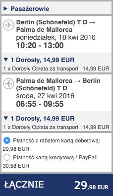 2016-04-18 Berlin Majorka Baleary Ryanair 132 zl RT