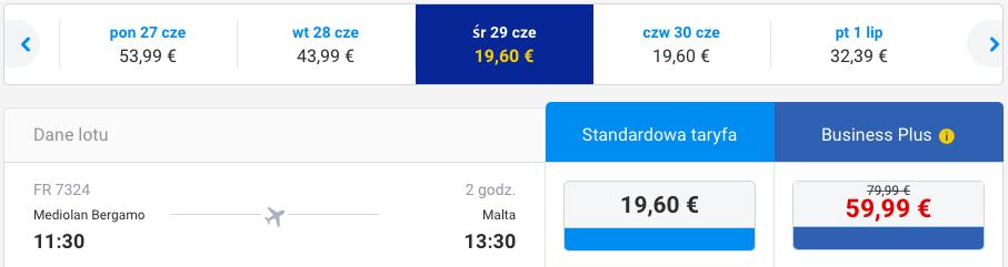 2016-06-23 Berlin Malta Ryanair Wakacje 250 zl RT 4